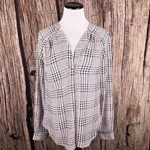 41 Hawthorn Ackley Top Houndstooth Stitch Fix